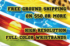Full Color Wristbands